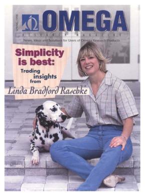 Линда Рашке на обложке журнала Omega. Фото с сайта lindaraschke.net