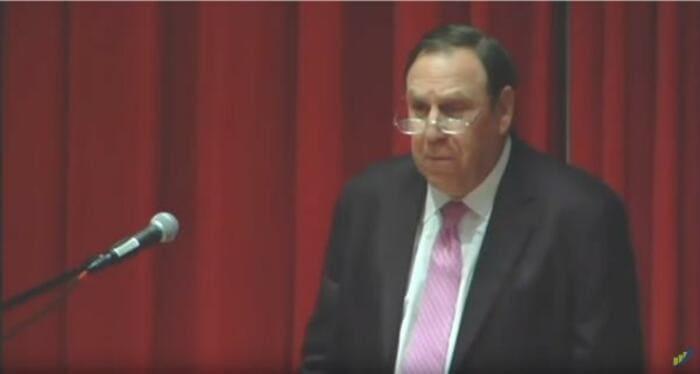 Мартин Шварц, лекциия в Амхерсте