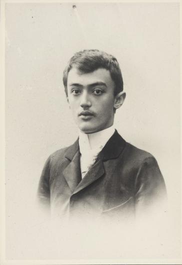 Йозеф Шумпетер, около 1900 г.
