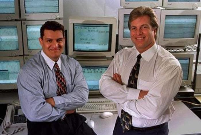 Льюис Борселино с коллегой.