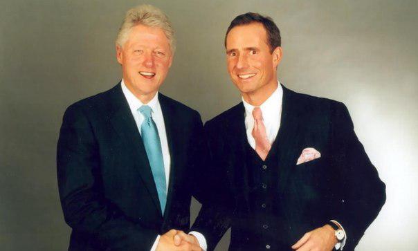 Билл Клинтон и Бодо Шефер