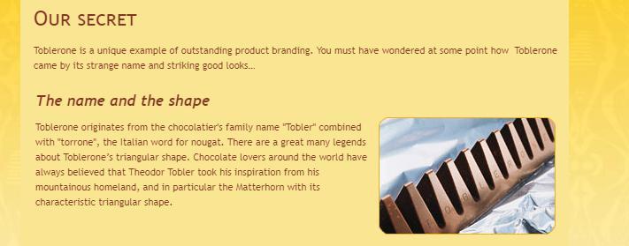 Рис. 1. Производитель рассказывает об уникальном шоколаде.