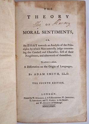«Теория нравственных чувств», издание 1774 года