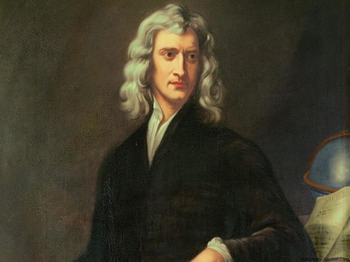 Сэр Исаак Ньютон, портрет Г. Кнеллера (1689). Источник: wikipedia.org