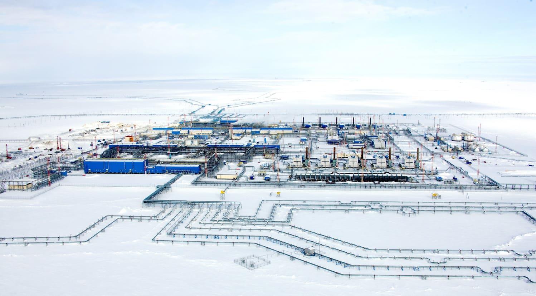 Газовый промысел №2 Бованенковского месторождения. Фото с официального сайта компании
