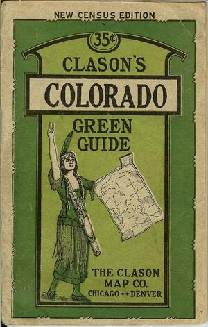 Путеводитель по штату Колорадо, примерно 1926 год