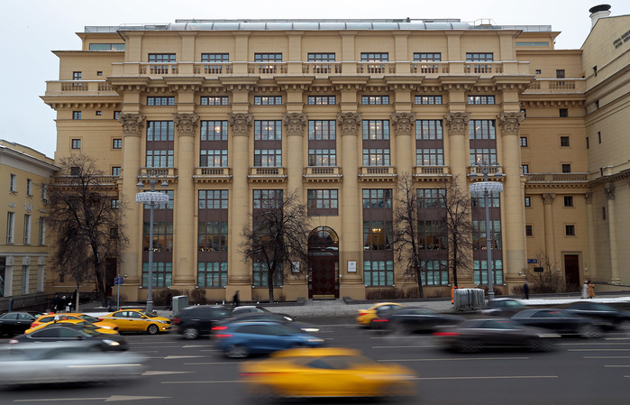 Здание АФК «Система» в Москве © Сергей Савостьянов/ТАСС