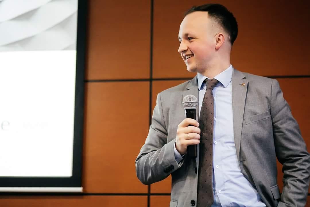 Александр Епишкин, конференция в Ростове-на-Дону, 2017 год.