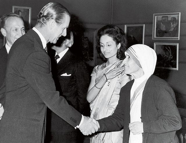Джон Темплтон и Мать Тереза, 1973 год.