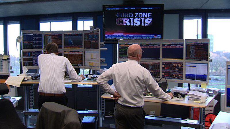 Кадр из документального фильма «Власть рейтинговых агентств» (De macht van de rating agencies) 2012 года