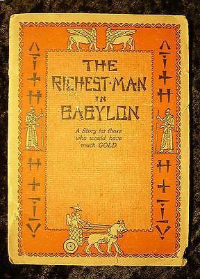 Одно из первых изданий книги «Самый богатый человек в Вавилоне», 1932 год