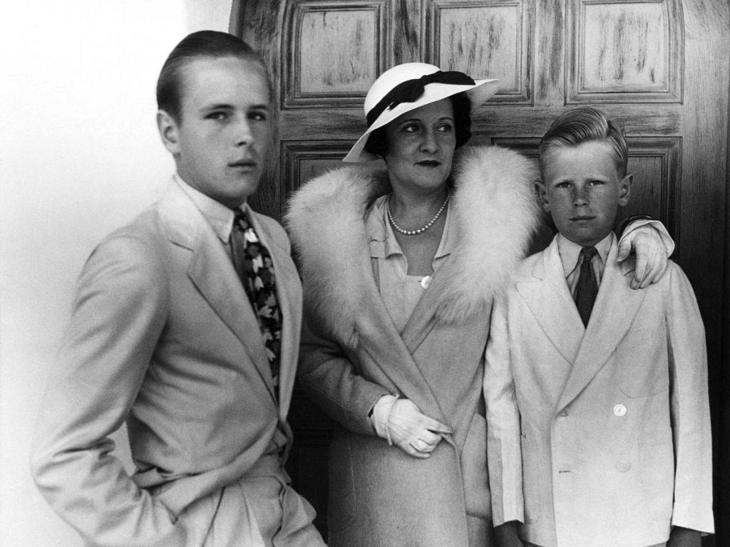 Жена Джесси Дороти Ливермор с сыновьями Джесси младшим и Полом, Санта-Барбара, 1933 г. Фото с сайта beyonddebt.net
