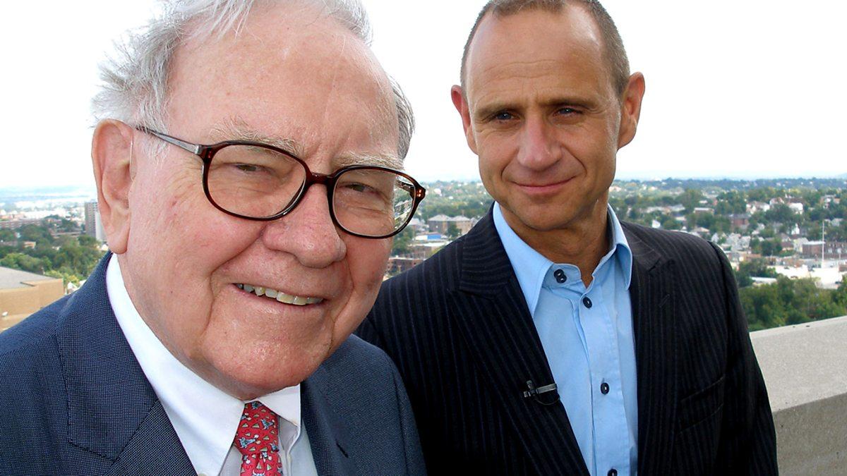 Уоррен Баффетт и Эван Дэвис, экономический редактор BBC