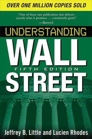 Обложка англоязычного издания книги «Как пройти на Уолл-стрит»
